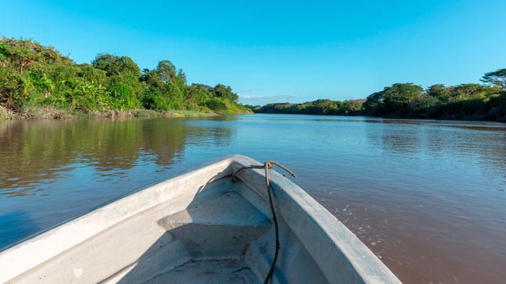 Promenade en bateau sur la rivière Tempisque