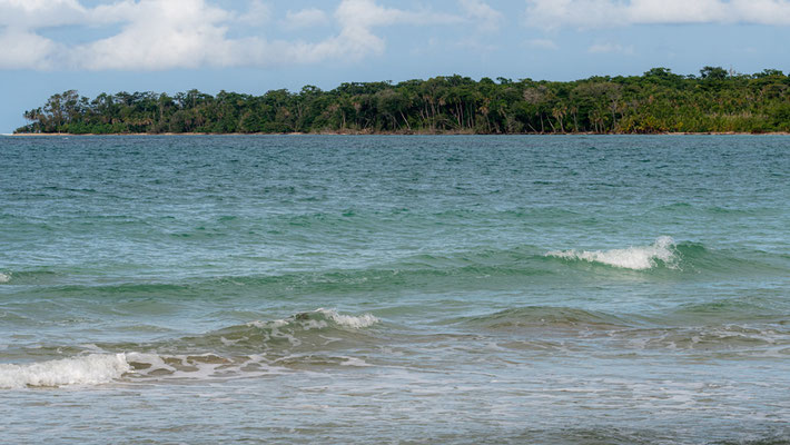 Vue sur l'océan depuis le Parc.