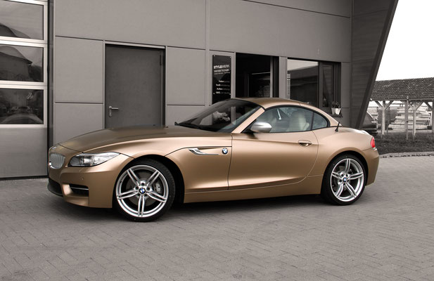 BMW Z4 35si Vollverklebt Carwrapping gewrapt