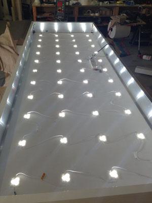 LED Leuchtkasten Scheibe Lichtkasten StyleWerk Werbetechnik