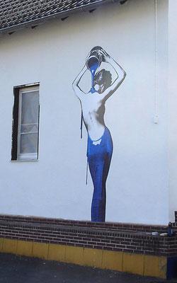 Wandverkleben Fassadenfolie StyleWerk Werbetechnik