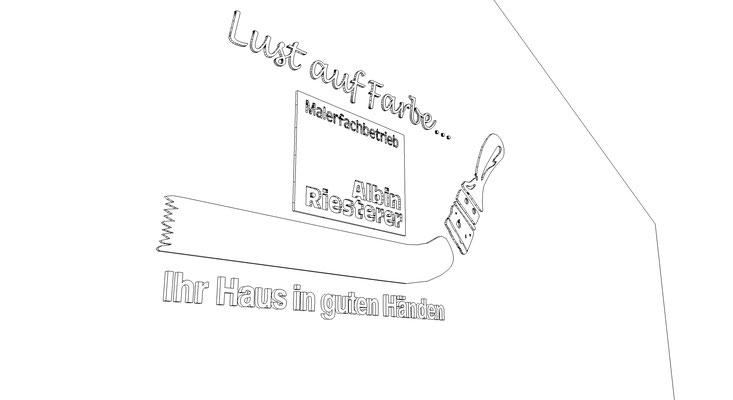 Fräsbuchstaben gefräste Buchstaben Fassadenbeschirftung Acrylbuchstaben CNC Fräsen StyleWerk Werbetechnik