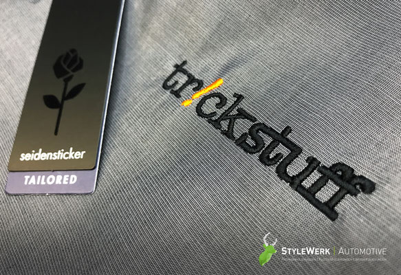 Hemd bestickt besticken lassen StyleWerk Werbetechnik Trickstuff