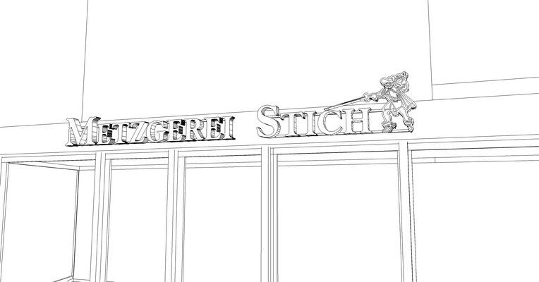 Leuchtbuchstaben, Reliefbuchstaben Lichtwerbung, Profilbuchstaben StyleWerk Werbetechnik Profil5 Deluxe LED