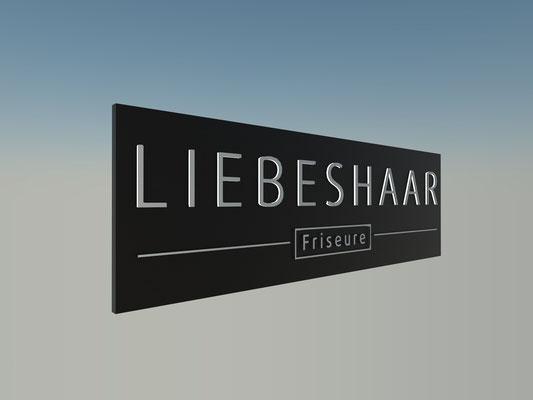 Leuchtkasten mit gefrästen Buchstaben dekupierter Leuzchtkasaten StyleWerk Werbetechnik
