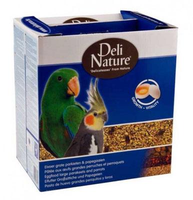 Eifutter für Grosittiche und Papageien