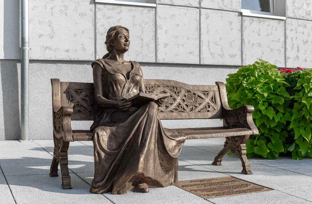Elizabeth von Arnim in Dobra (Daber)