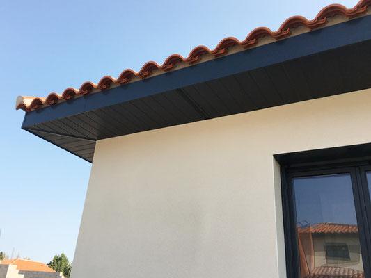 protection débord de toit