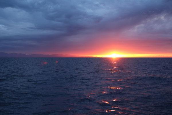 Sonnenuntergang am Cap Corse