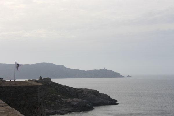 Blick auf das Cap vor Calvi