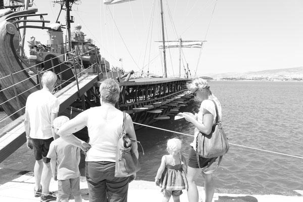 Ausflug in Athen mit Oma und Opa