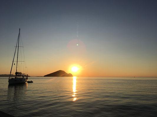 Sonnenaufgang in Keri