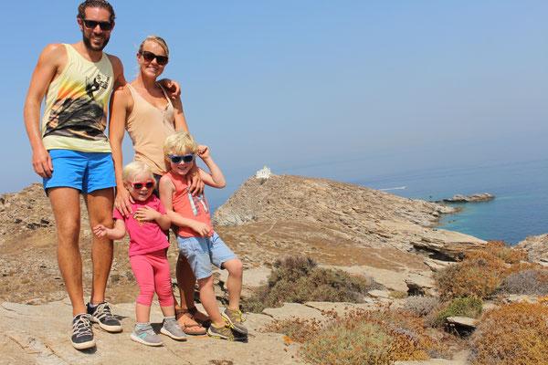 Wanderung auf Paros
