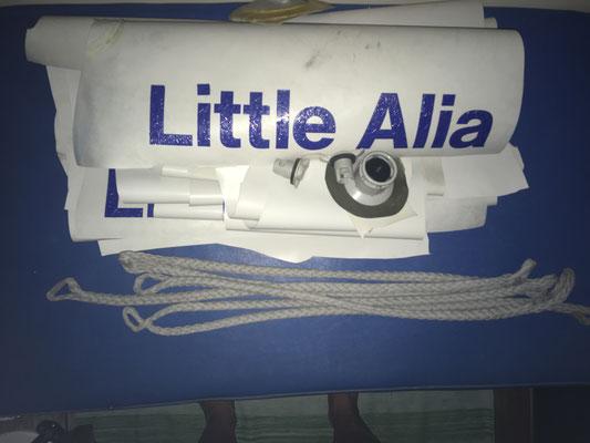 Das was übrig ist von unserer Little Alia