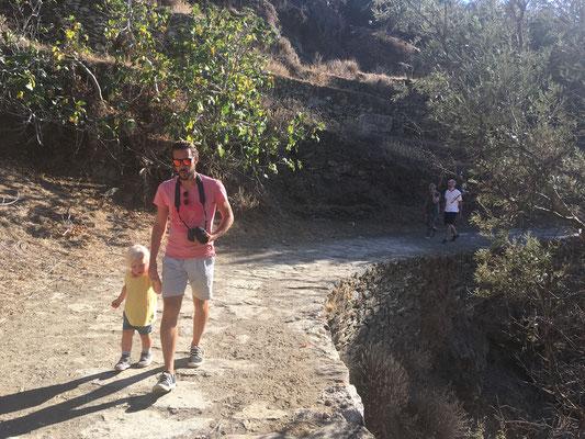 Spaziergang zum Ancient Lion auf Kea