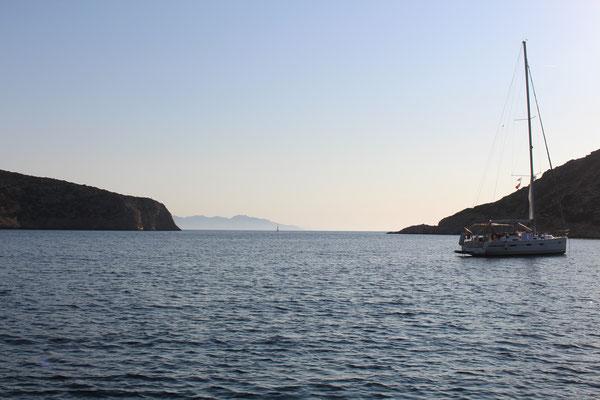 Wunderschöne Bucht Vathi auf Siphnos