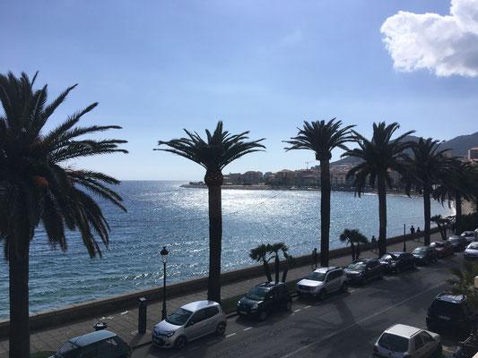 Promenade von Ajaccio