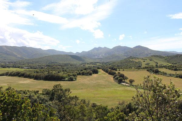 Das Hinterland von Marcinaggio