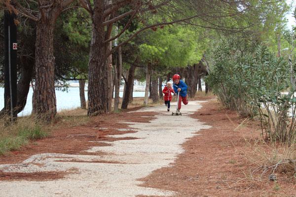Ausflug auf der Halbinsel Argostoli