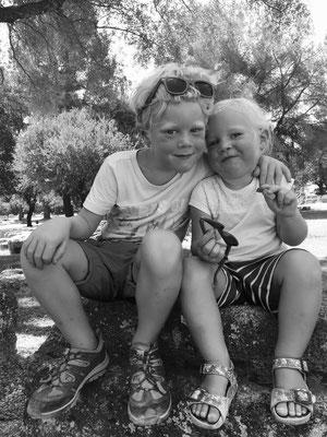 Geschwisterliebe in Olympia