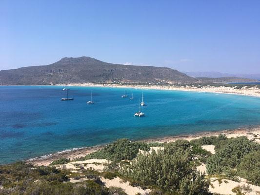 Elafonisos - karibischer Strand