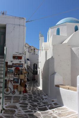Naoussa auf Paros