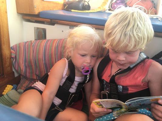 Mit Lifeline während der Umrundung des Kap Malea