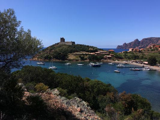 Die Bucht von Girolata