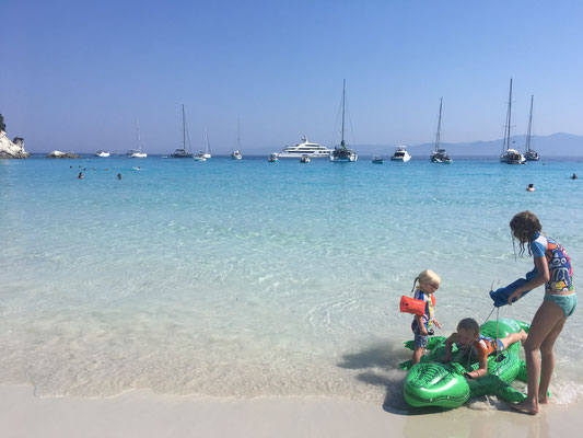 Traumstrand bei Antipaxos