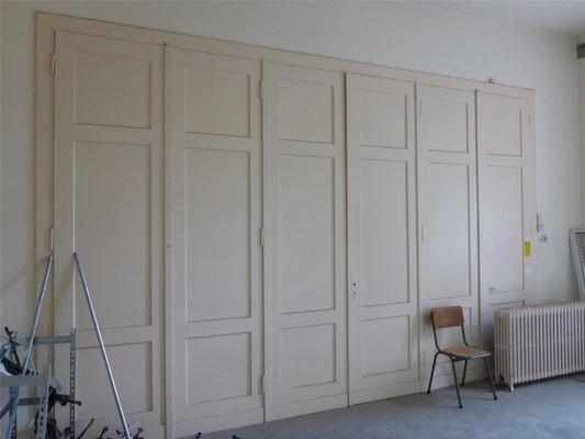Wesentliche Elemente der Inneneinrichtung sind im Originalzustand erhalten geblieben.