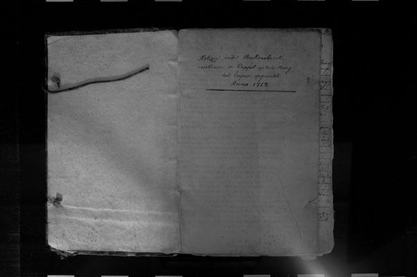 """Das """"Notizie- & Reekensboek"""" der Bergkapelle"""