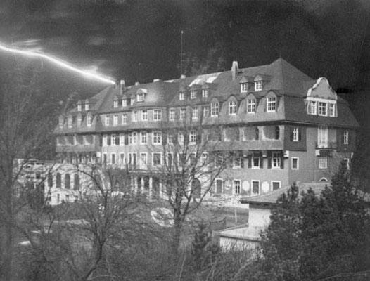 Aufnahme des Sanatoriums vom Dezember 1944