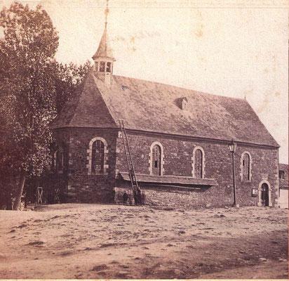 Die ältesten Fotografien der Bergkapelle stammen aus dem Jahr 1865