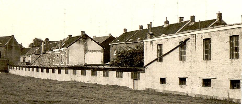 Blick auf die alte Seilerbahn in den Lootenwiesen an der Neustraße.