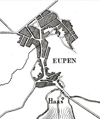 Stadtplan um 1850