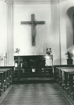 Die Kapelle nach der Renovierung von 1961