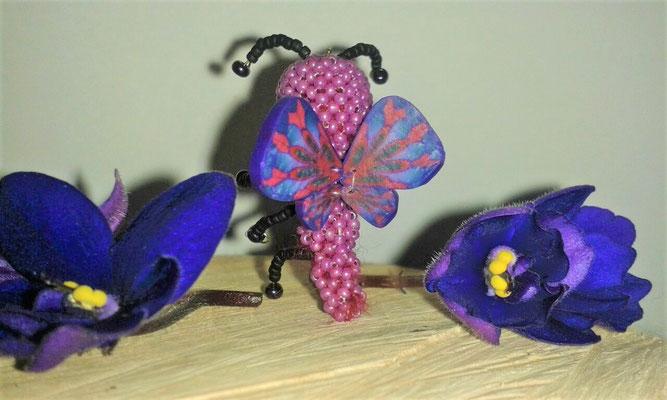 Flügel am Schmetterling