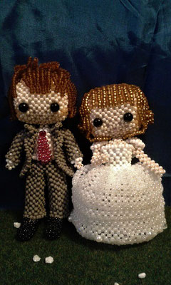 Brautpaar aus dem Internet