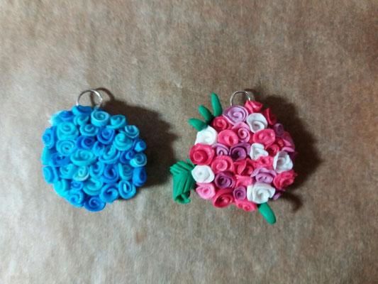 """Kettenanhänger """"Blumen-Bouquet"""""""