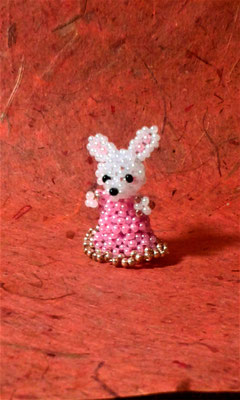 Mini-Hase nach HeartBead