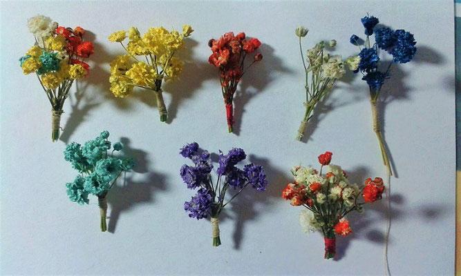 Mini-Blumensträuße