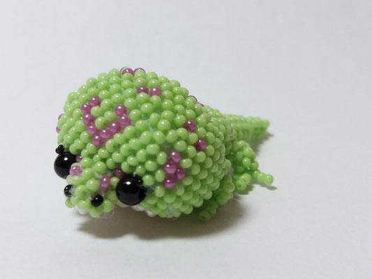"""Gecko"", nach Jennifer Hillebrand"