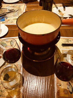 Traditional Käsefondue