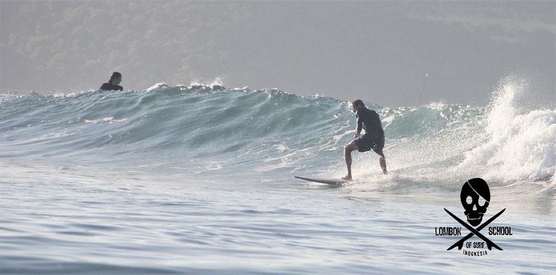 Gerupuk inside - Barney´s surf is getting better