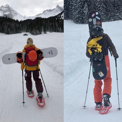 Schneeschuhwanderung zur Lindauer Hütte
