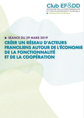 Créer une dynamique EFC francilienne : 3ème séance