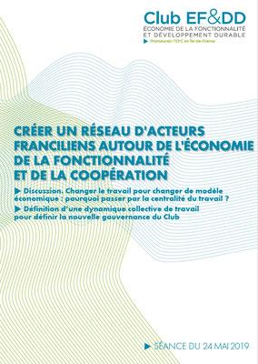 Créer une dynamique EFC francilienne : 4ème séance