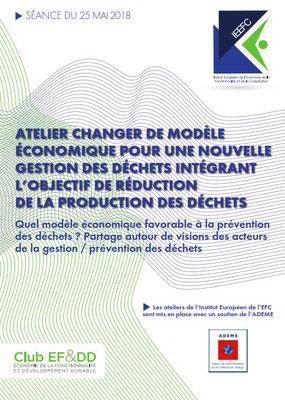 Atelier IE-EFC : La prévention des déchets