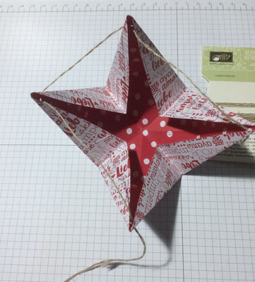 Stampin Up Origami Verpackung