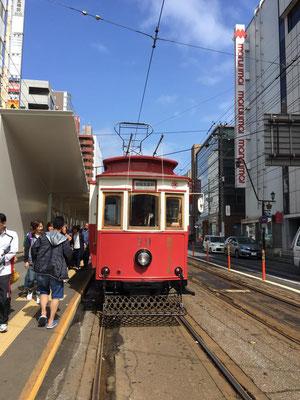 函館市電レトロバージョン